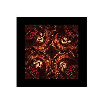 קוטלת בנדאנה Repentless לוגו הלהקה החדש הרשמי שחור 21 ב x 21 ב