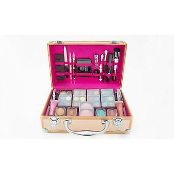 Dawn Till Dusk 54pc Make-up Set, Supplied in a Rose Gold