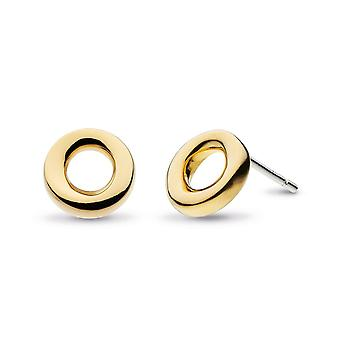 Kit Heath Bevel Cirque Gold Plate 9mm Boucles d'oreilles Stud 4189GRP