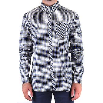 Fred Perry Ezbc094076 Men's Multicolor Cotton Shirt