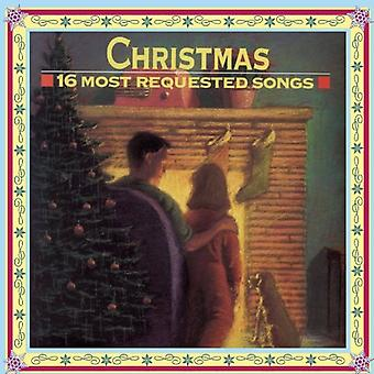 Christmas-16 Most Requested Songs - Christmas-16 Most Requested Songs [CD] USA import