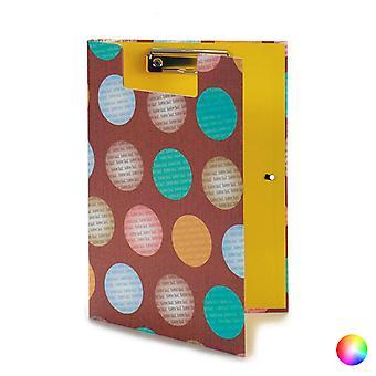 Folder Clip A4 With lid Circles (2 x 32 x 23 cm)