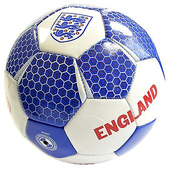 Engeland Vector Officiële Supporter Voetbal Voetbal Bal Wit - Maat 5