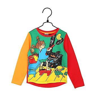 Pippi Longstocking Pancake Sweater Red