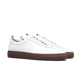 Grenson Sneaker 1 White Leather Trainers