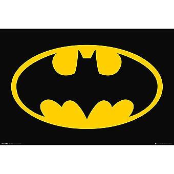 ملصق شعار باتمان
