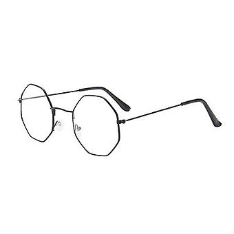 1pc moda irregular colorida lente metal marco gafas de sol drive