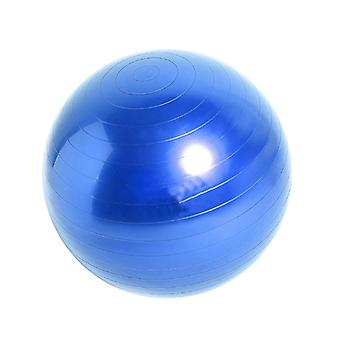 55cm blau PVC verdickt Anti Burst Yoga Ball Balance Ball für Pilates