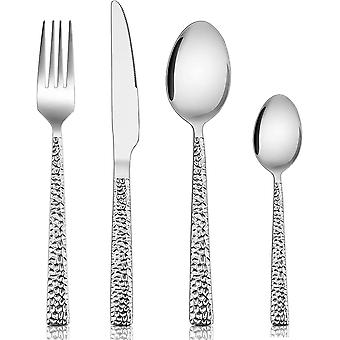 Cutlery Sets, Homikit Stainless Steel 24 Piece Cutlery Flatware Set