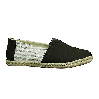 Toms Classic Tarmac Ivy Leauge Canvas Slip On Mens Espadrille Shoes 10013528