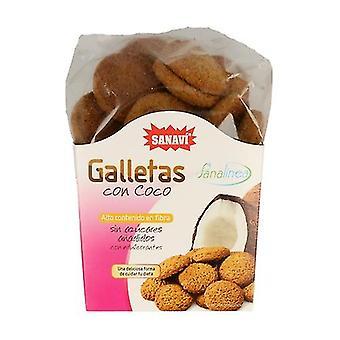 Kookoskeksit ilman lisättyä sokeria - Sanalínea 200 g