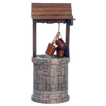 Dolls House Miniature Garden Old Fashioned Traditional Water Wishing Well