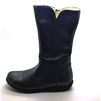 PRIMIGI Zipped Leather Boot