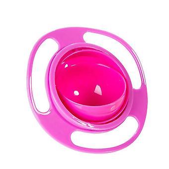 Universal Gyro Anti Spill Skål - Slät 360 grader Rotation