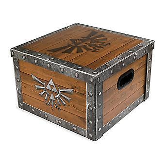 The Legend Of Zelda Treasure Chest Storage Box