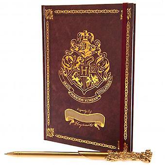 Harry Potter Notebook & Pen Set Hogwarts