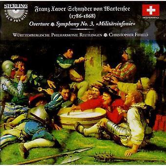 S.V. Wartensee - Franz Xaver Schnyder Von Wartensee: Overture; Symphony No. 3 [CD] USA import