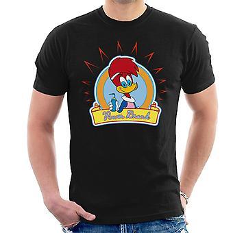 Woody Woodpecker Winnie Woodpecker Power Break Hombres's Camiseta