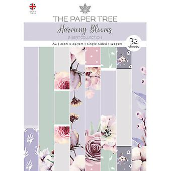 The Paper Tree - Harmony Blooms Collection - A4 Insert Collection