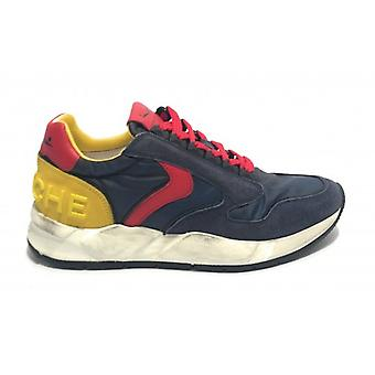 Running Voile Blanche Suede/ Nylon Blue/ Red/ Yellow Men's Fabric Us19vb02
