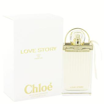 Historia de amor de Chloe Eau De Parfum Spray por Chloe 2.5 oz Eau De Parfum Spray