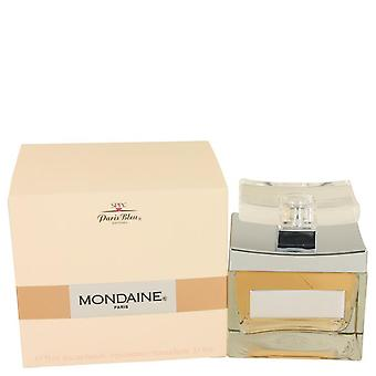 Mondaine Eau De Parfum Spray By Paris Bleu 3.1 oz Eau De Parfum Spray