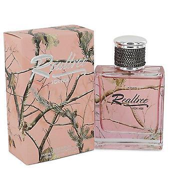 Realtree Eau De Parfum Spray By Jordan Outdoor 3.4 oz Eau De Parfum Spray