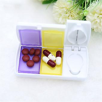 Medicine Tablet Storage Box With Splitter
