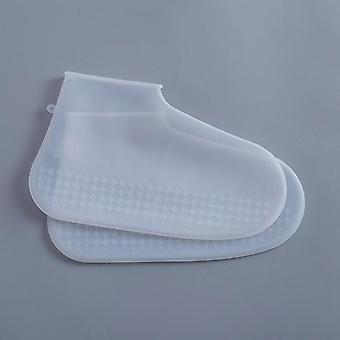 Imperméable à l'eau Latex Material Unisex Shoes Protectors Rain Boot