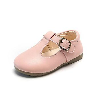 Baby T Strap Leather Shoes Non-slip Toddlers