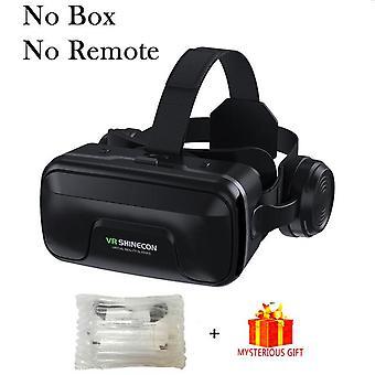 Vr shinecon 10.0 casco 3d gafas de realidad virtual casque para teléfono inteligente teléfono inteligente gafas auriculares viar videojuego binoculares