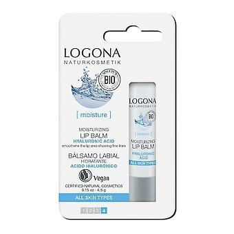Logona Hyaluronic Moisturizing Lipstick 4,5 gr
