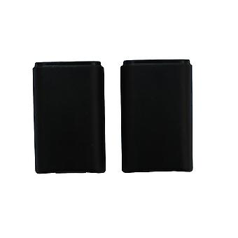 2 X Black Rechargeable Battery Pack For Microsoft Xbox