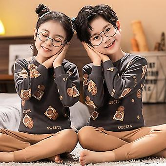 Children Pajamas, Totoro Cotton Clothes Pants Set, Cartoon Sleepwear, Pajamas