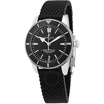 Breitling Superocean Heritage II Automatic Chronometer Black Dial Men's Watch AB20302A1B1S1