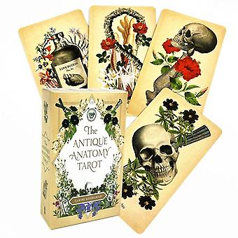 The Antique Anatomy Tarots Deck Full English Divination Oracle Cards Pdf
