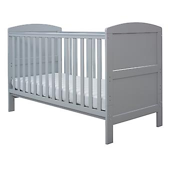 Ickle Bubba Coleby Classic Cot Bed and Pocket Sprung Mattress - Grey