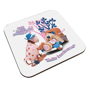 The Magic Roundabout Ermintrude & Dougal Hello Handsome Coaster