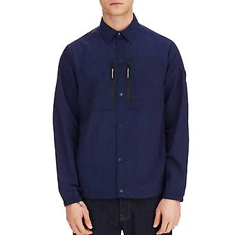 Weekend Offender Nicky Eyes Overshirt - French Navy