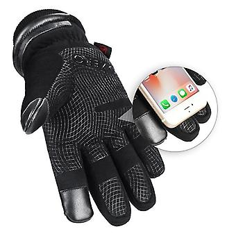 Mens Waterproof Winter Gloves