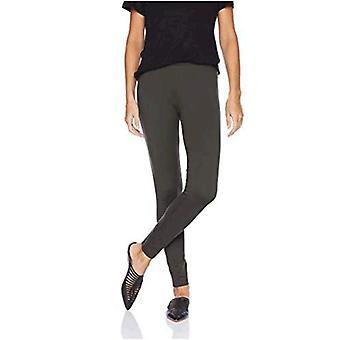 Brand - Daily Ritual Women's Ponte Knit Legging, Olive, XX-Large Regular
