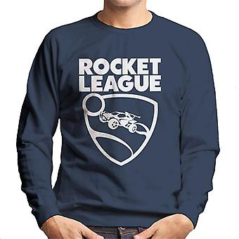 Rocket League Text med logotyp Män & s Sweatshirt