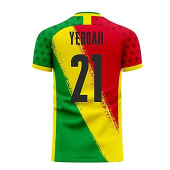 Ghana 2020-2021 Away Concept Football Kit (Libero) (YEBOAH 21)