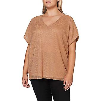 ONLY Carmakoma CARUMA SS Top T-Shirt, Detail: with Glitter, XL-54 Woman