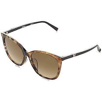 MaxMara MM BERLIN FS Sunglasses, HAVANA, 56 Womens