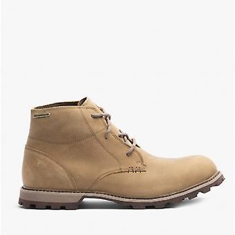 Muck Boots Freeman Mens Leather Waterproof Boots Tan