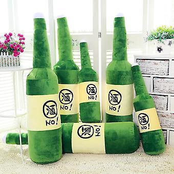Hauska täytetty lelu olut pullo savuke tyyny syntymäpäivä lahja