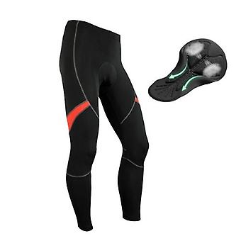Men's Thermal Running Tights Athletic Cycling Pants Fleece Cold Weather Outdoor Bike Cycling Trousers