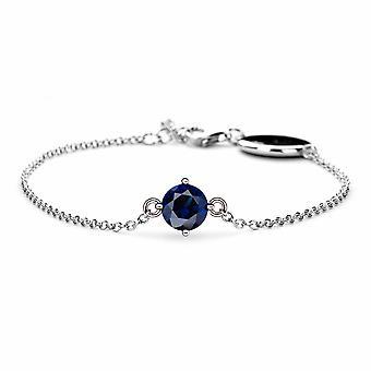 Septembre Saphir Birthstone Bracelet - 16cm + 2cm extender - Bijoux cadeaux pour femmes de Lu Bella