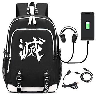 USB-Laderucksack Schüler Schultasche Outdoor-Computer-Tasche